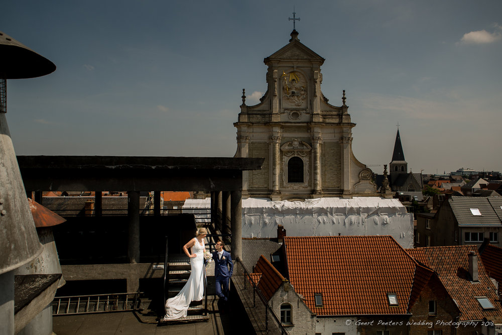 Hof ven Beatrijs Lier trouw shoot bruid en bruidegom foto