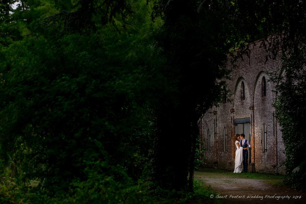 Hof Ter Buecken Buggenhout trouw Hanne en Pol shoot foto