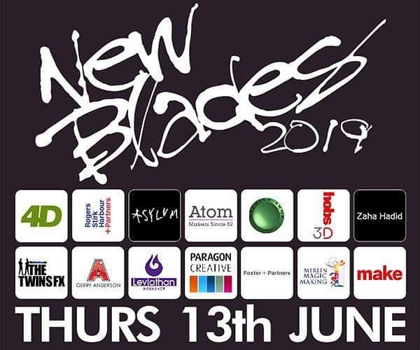 We are proud to be a returning sponsor for New Blades 2019 hosted by @4d_modelshop. It really is a fantastic recruitment fair, and it is great to see the incredibly hight standard of work from the graduates. We sponsor both the show and give our own best in show award. Come along and marvel  #newblades #newbladesshow #newblades2019 #modelmaking #props #puppets #graduatefair #models #sculpture #competition #leviathanworkshop #4dmodelshop #futurepropmakers