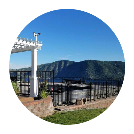 Eagle Ornamental Iron - Designed to create an invisible connection between the rail and pickets, no unsightly screws.