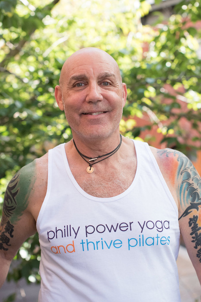 Steve Gold, yoga instructor and owner of Philly Power Yoga