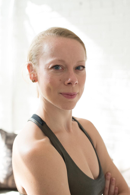 Lindsay Browning, yoga instructor