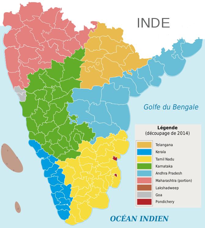 Paysage scolaire inde du sud