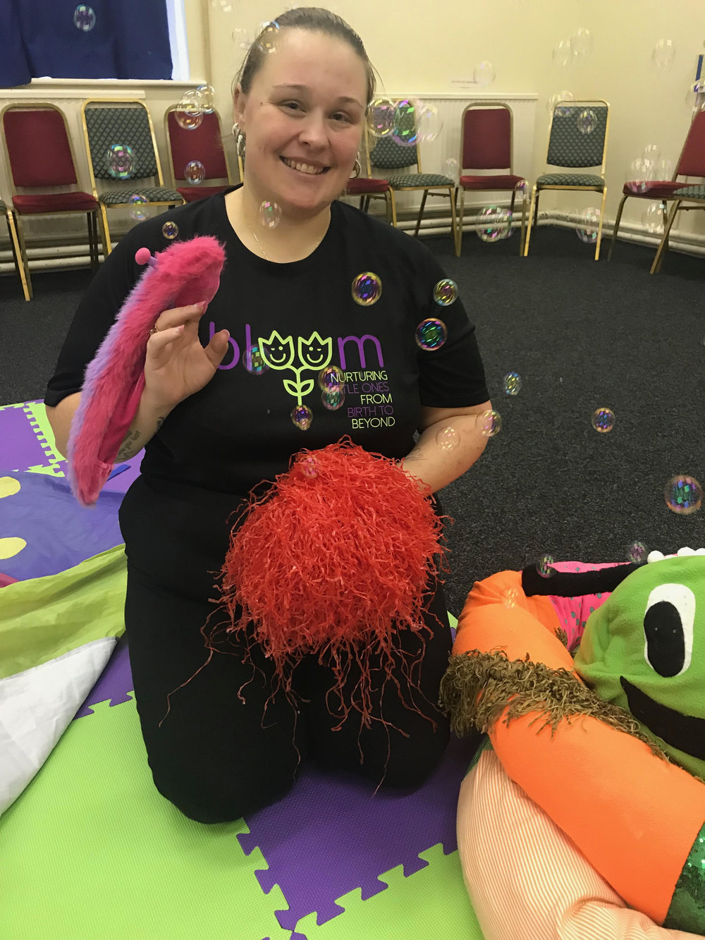 Rachel Mather - Hi my name is Rachel, I'm a mum to Amelia (16 months) and have Qualifications in Childcare. We have been going to Bloom classes for over a year and seeing the difference in my little girl's development has filled my heart so much.I will be running Bloom Tameside from January 2019 and you will be able to join me at classes in Audenshaw, Ashton, Stalybridge, Denton and Dukinfield.I can't wait to meet you all xx