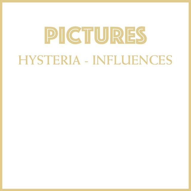 Unsere Einflüsse für unser Album HYSTERIA? Checkt unsere Influences Liste bei @spotify
