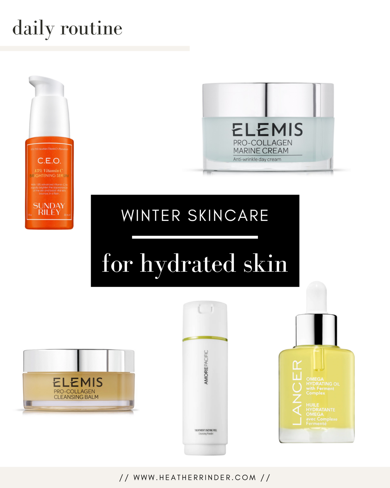 Winter Skincare Routine: 12 Steps and Products for Hydrated Skin
