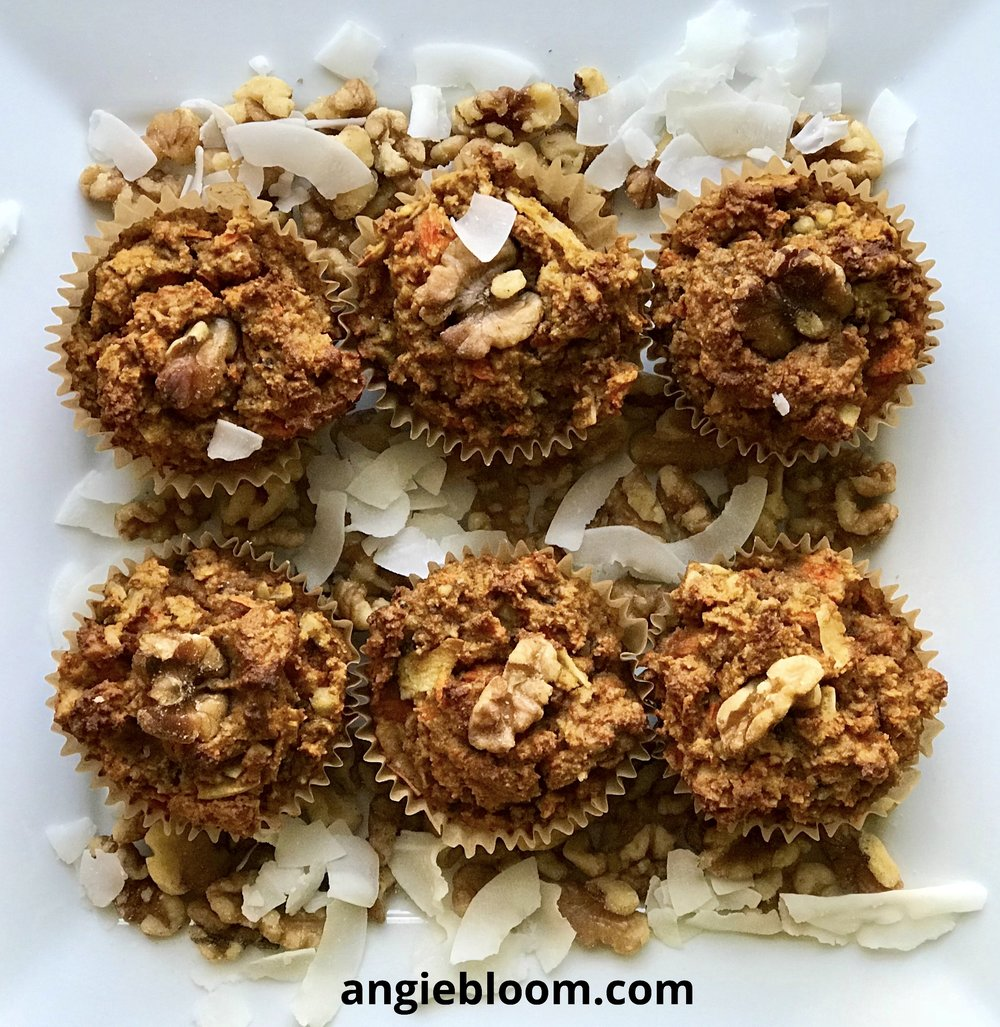 Healthy Paleo Morning Glory Muffins (Gluten Free and Dairy Free)