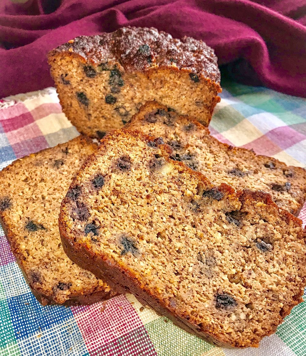 Paleo Gingerbread Spice Loaf (Sibo friendly, gluten free, low fodmap)