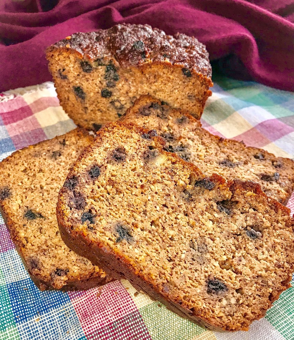 Paleo Gingerbread Spice Loaf