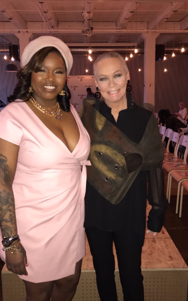 The founder of Style.Rivals (left) Jennifer Kelly, with Chicago Tribune Columnist and Award Winning Blogger, Candace Jordan.