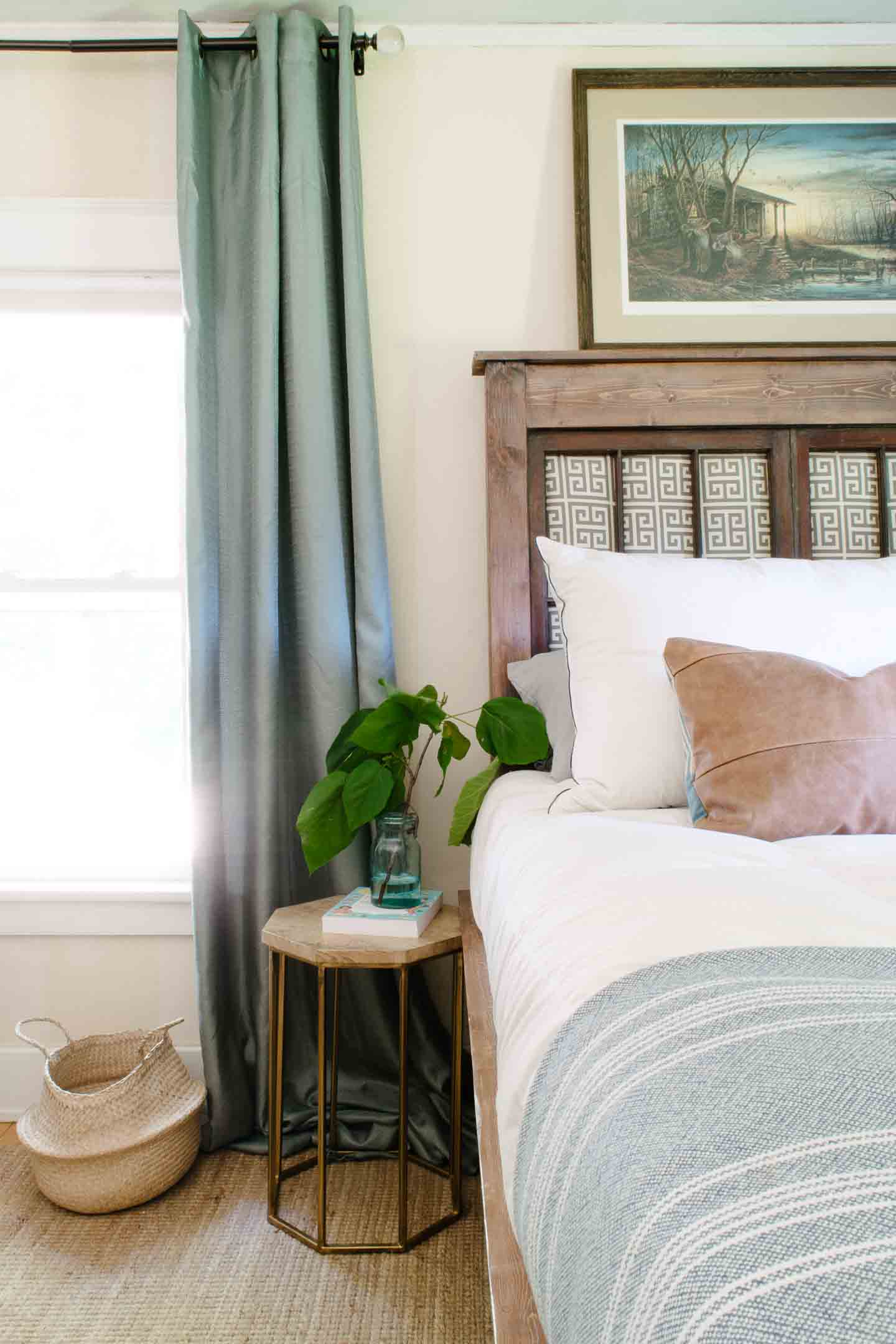 Making a King Bed Work in a Small Bedroom (#TallProblems) — This ...