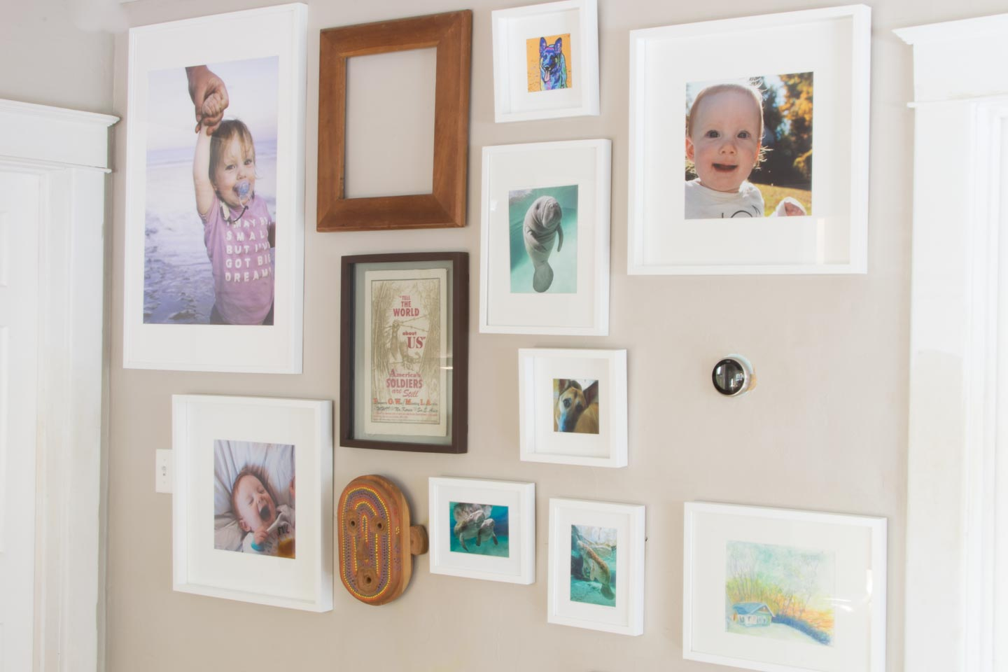 Summer Gallery wall