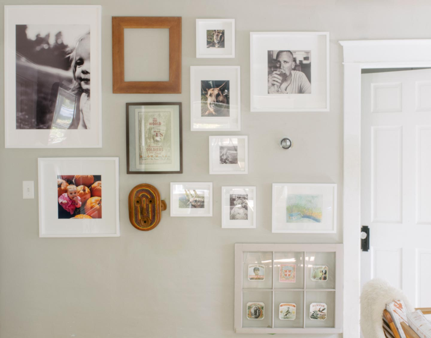Fall Gallery Wall with new Pictures