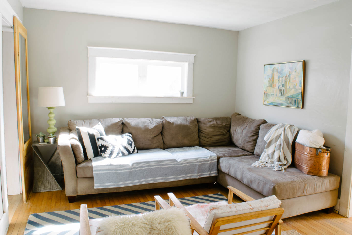 living room photo of couch