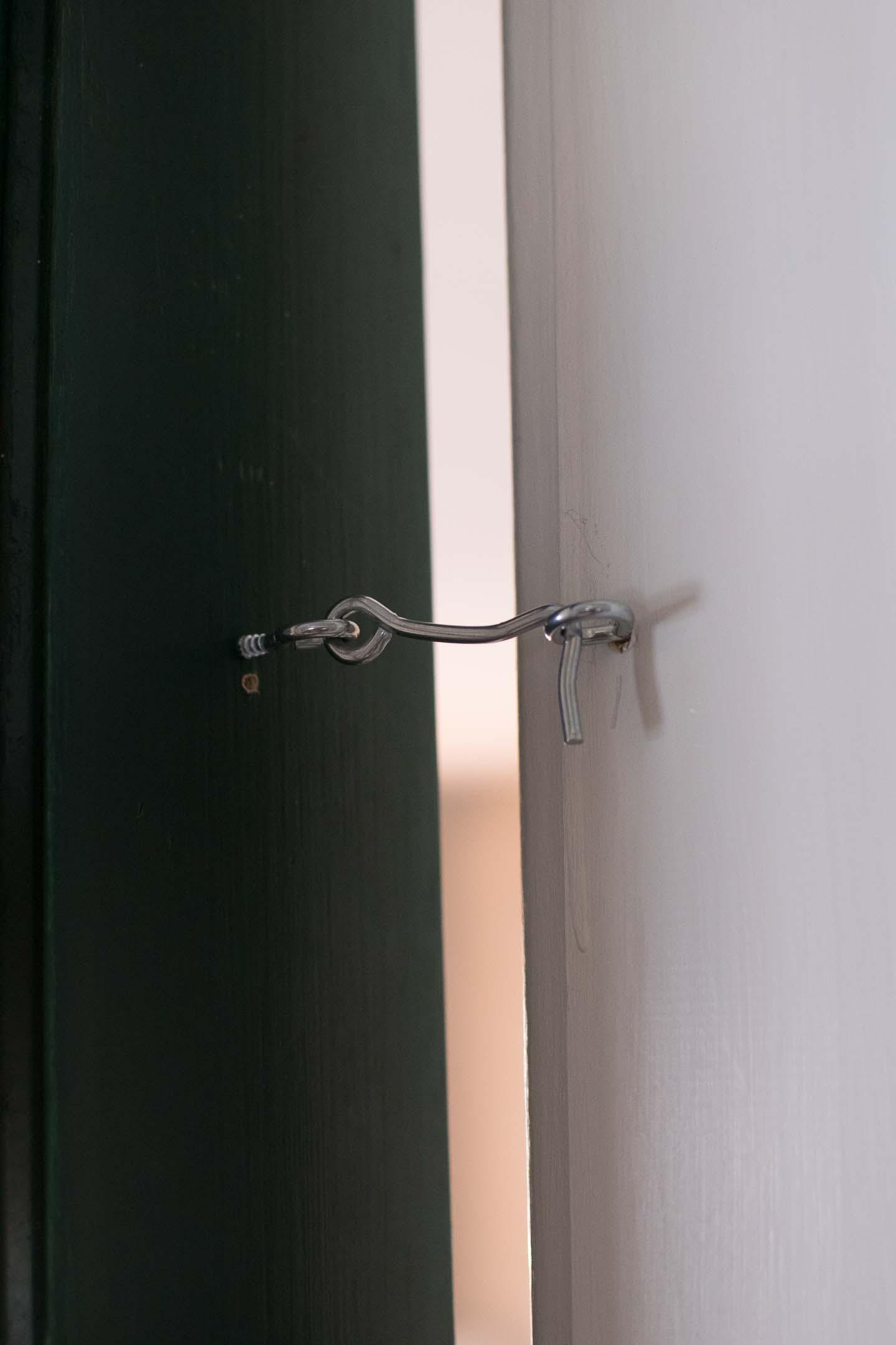 easy sliding door lock