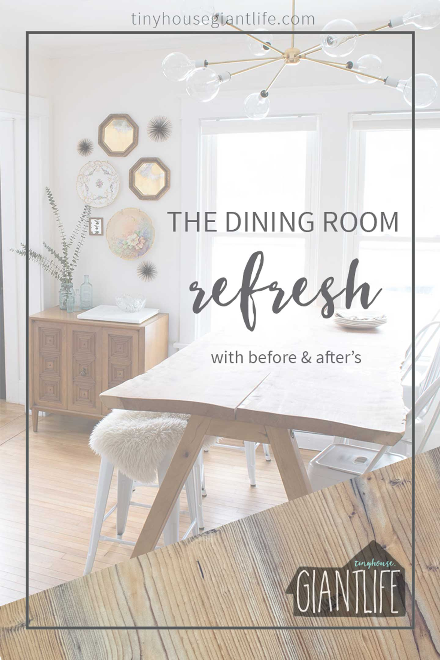 DESIGNING OUR IDEAL DINING ROOM: THE FULL REFRESH