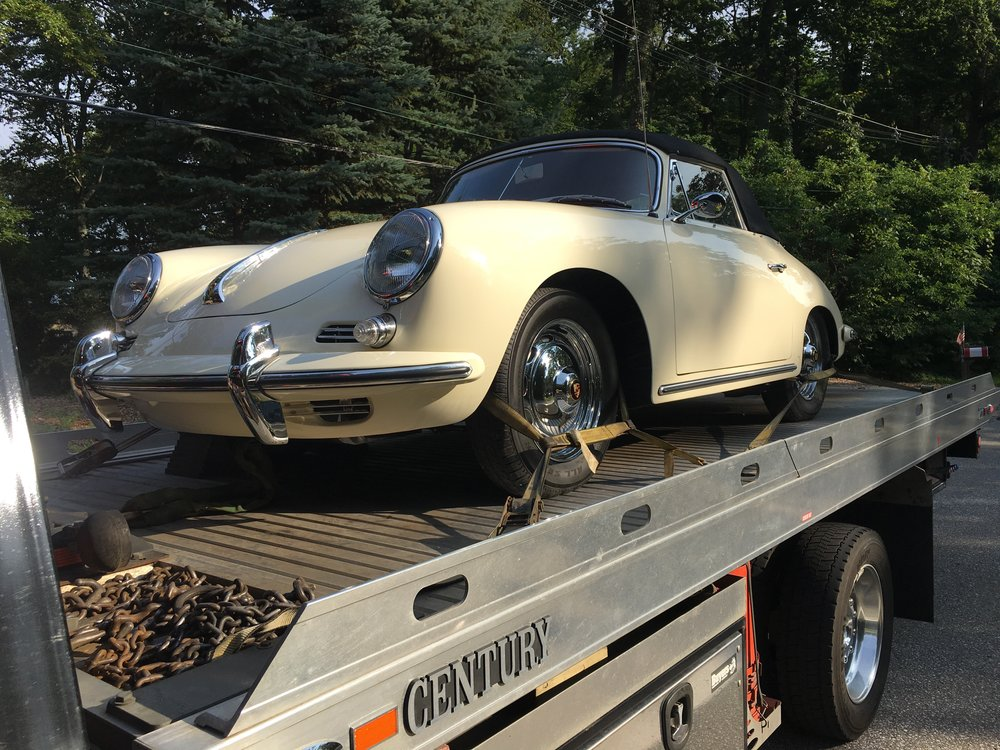 Classic and Exotic Towing - Our team is trained and equipped to tow your high-end vehicles.