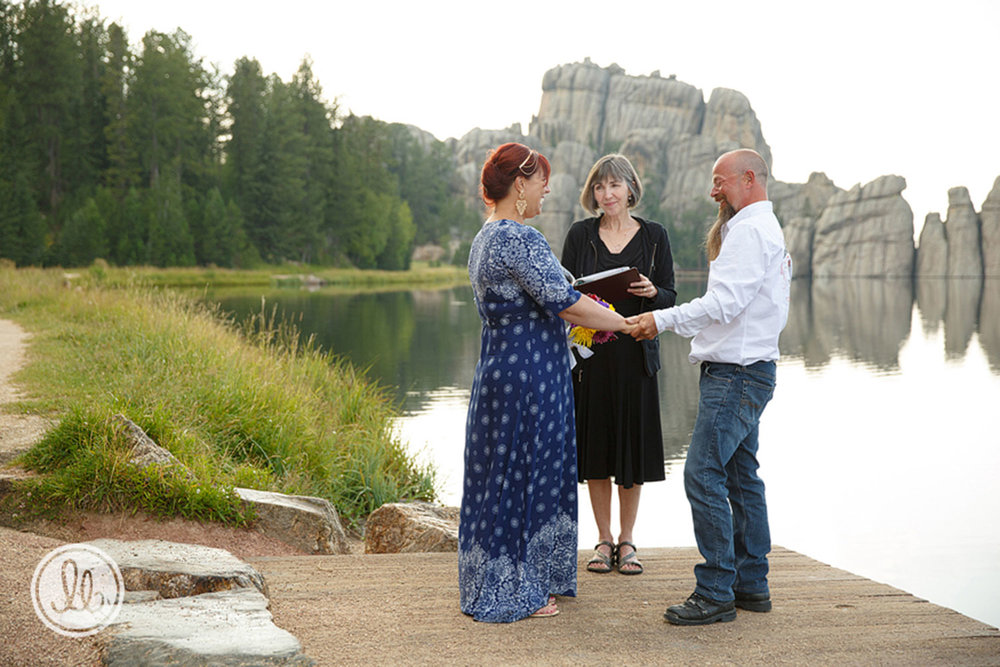 Your officiant - Mary is your ceremony planner and Sturgis Rally Weddings officiant