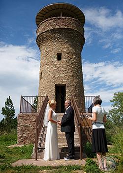 Vows at Mt. Roosevelt's Friendship Tower