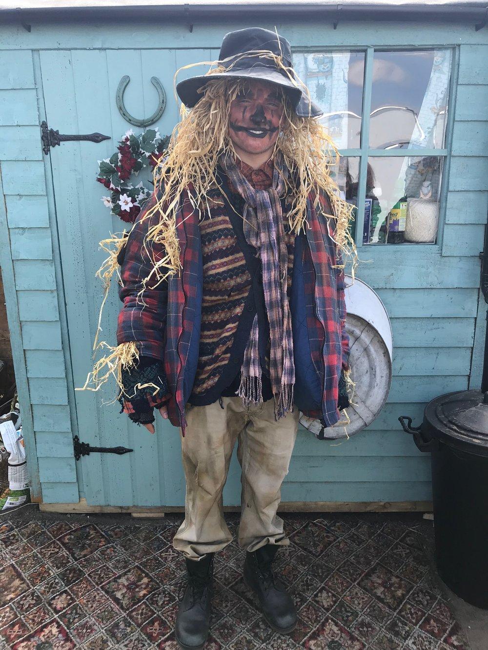 Leroy (scarecrow)   Actor : James Baxter