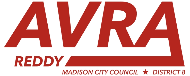 Avra Reddy for Madison City Council