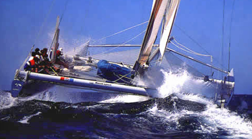 Stars & Stripes infamous 1988 America's Cup defense