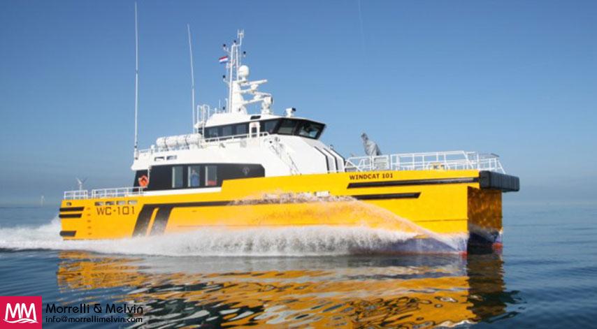 WindCat Workboats 101 Offshore Crew Vessel