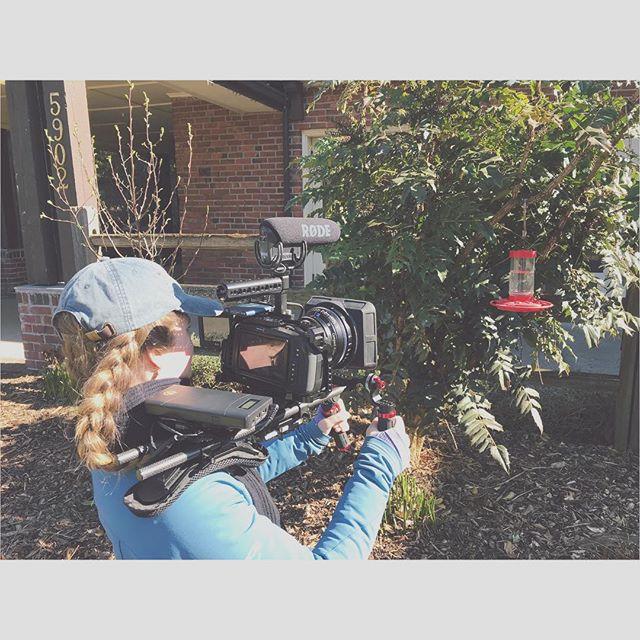 My kind of birding 🐦 #documentaryproduction #femaledp  #femalefilmmaker #femaledirector