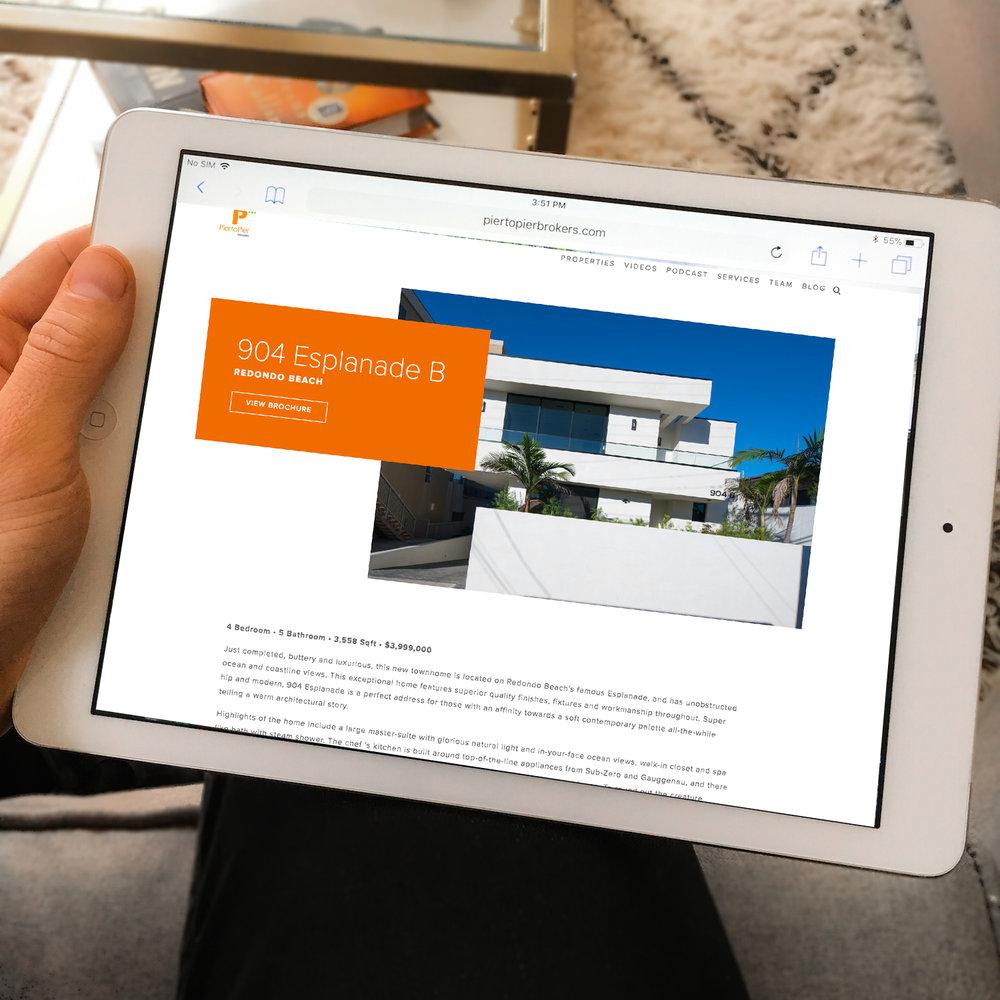 Property Web Page -
