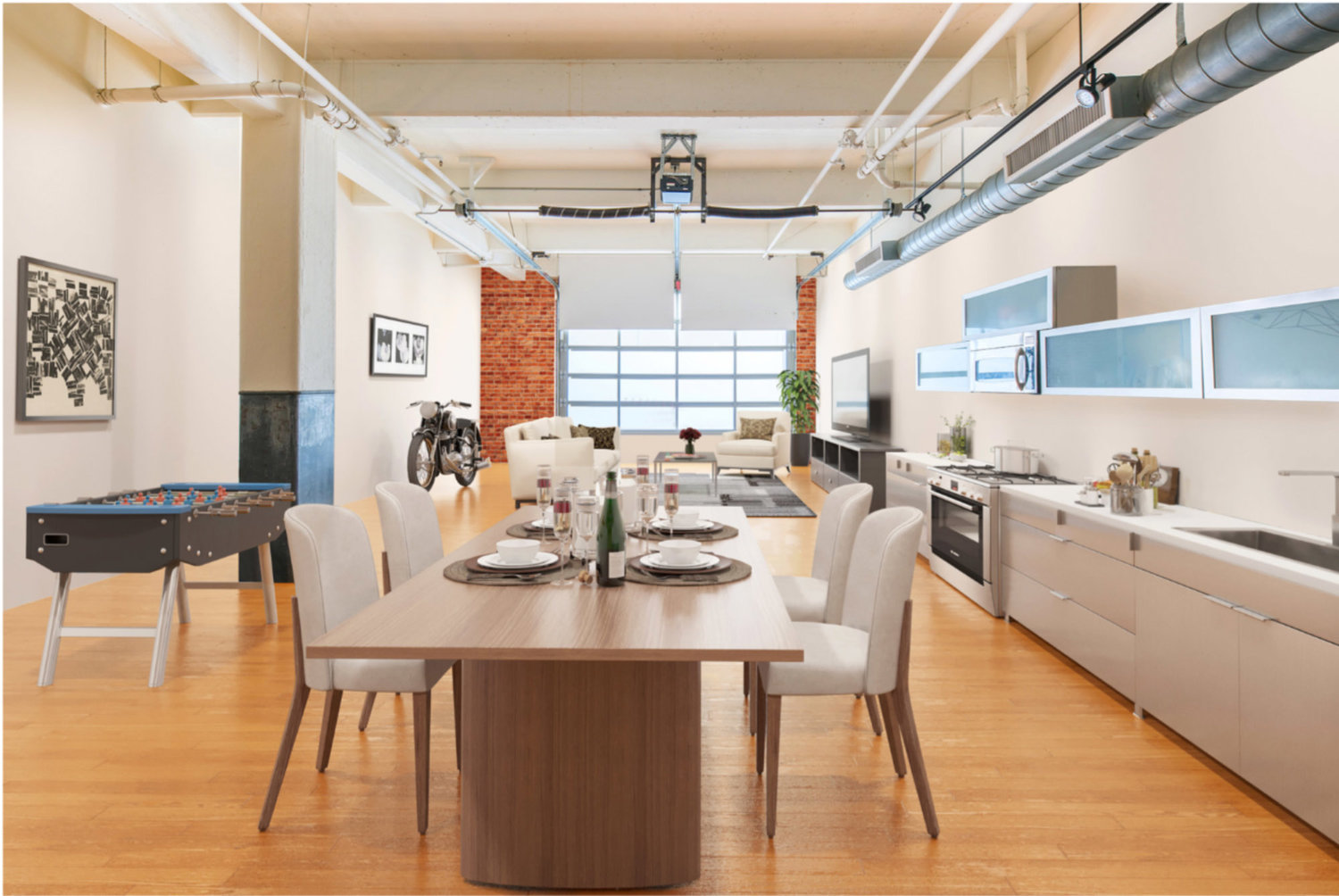 Modern loft 1850 industrial street unit 110 los angeles 899000 pier to pier brokers real estate listings agents homes for sale videos