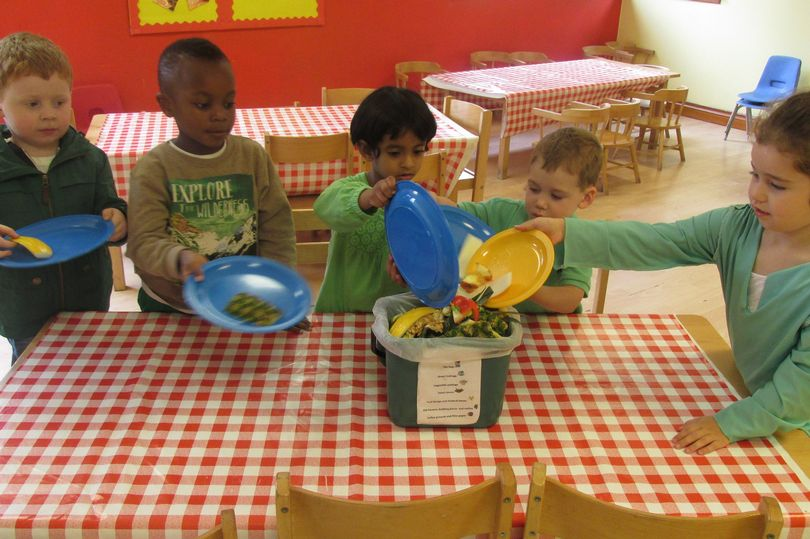 - We piloted the project in two primary schools in the West End with fantastic results, reducing food waste by 38% in six weeks, thanks to the positive engagement of the pupils, teachers and kitchen staff.