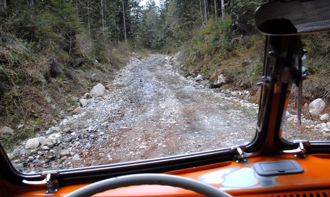 interior camping trip-washout