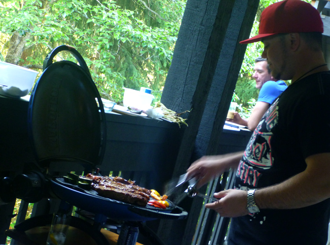 travis at grill