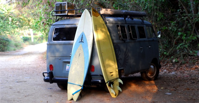 E and surfboards