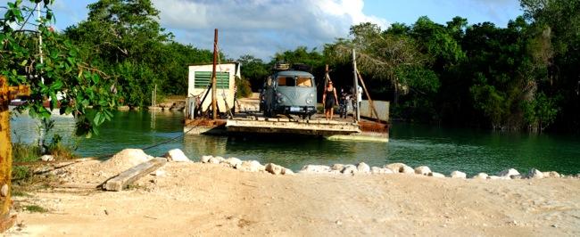 handcrank ferry