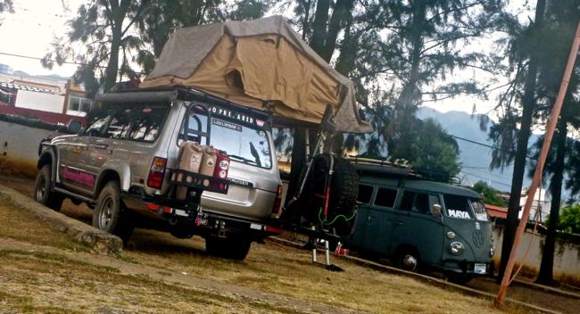 maya rally camping oaxaca