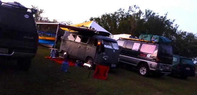 maya rally final camping