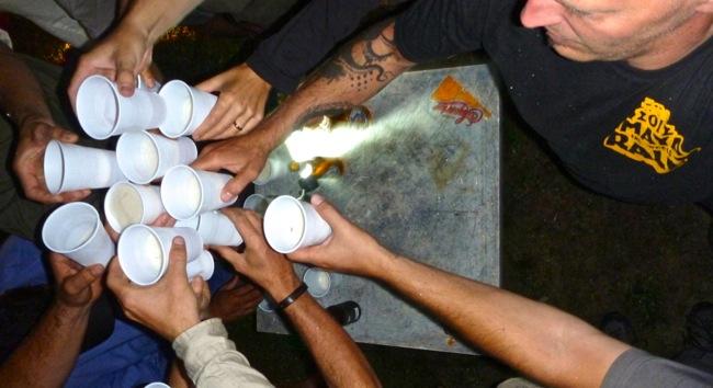 maya rally toast