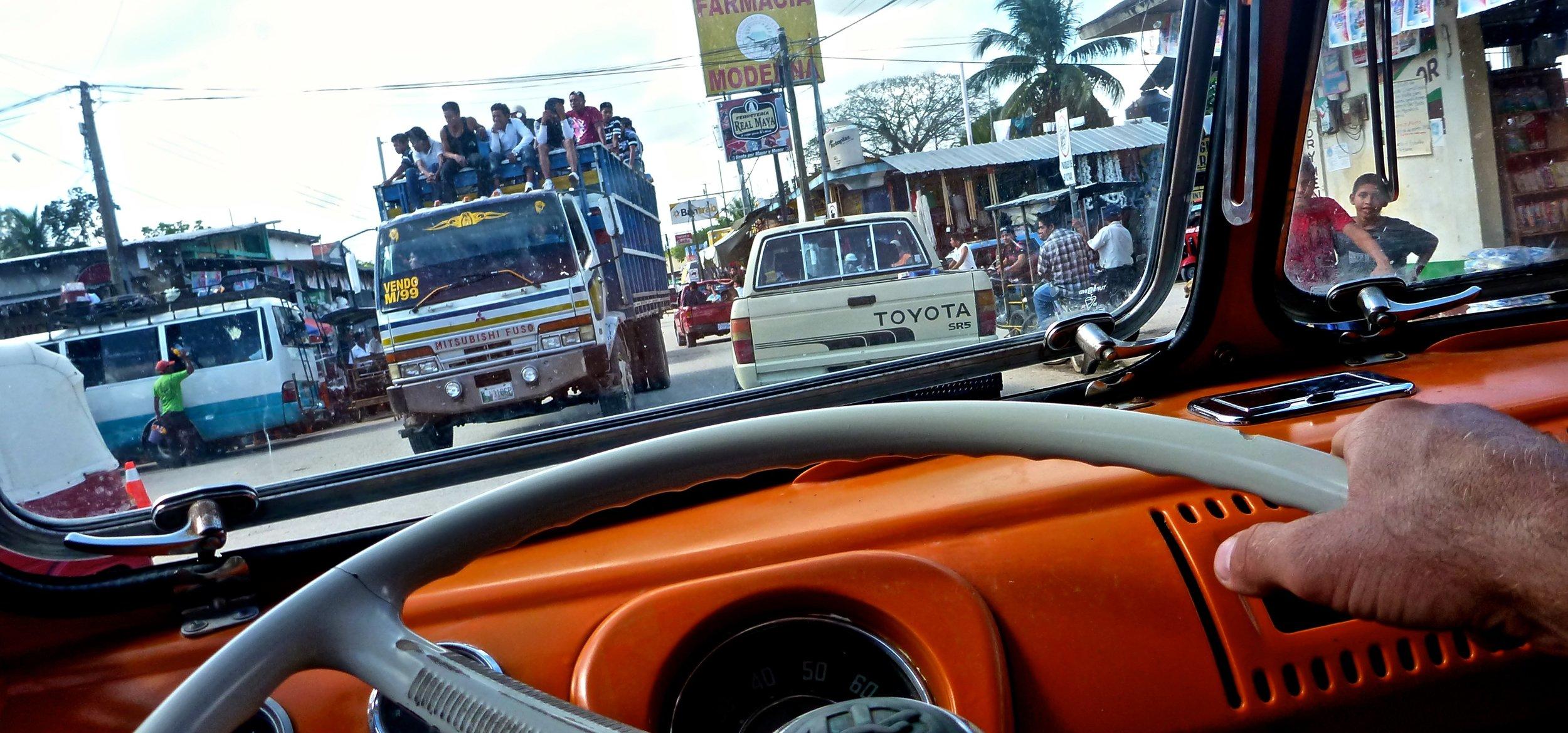 guatemala driving