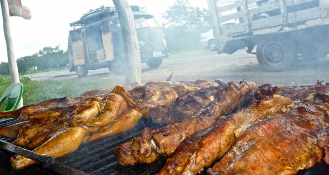 pollo asad