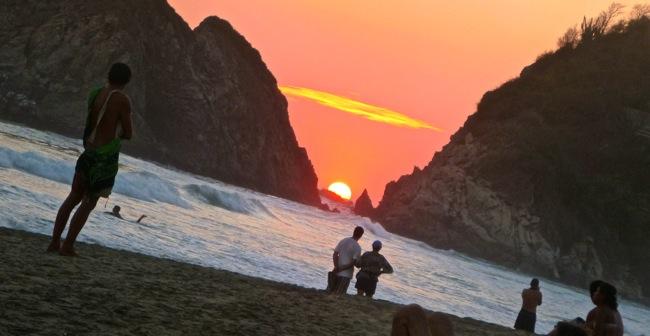 zipolite sunset 2