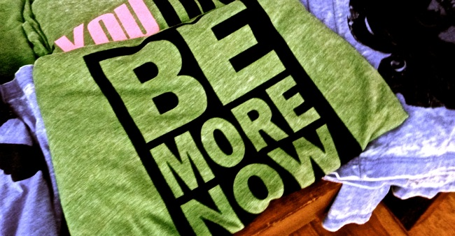 be more now