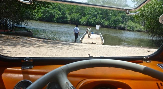 Guatemala car ferry