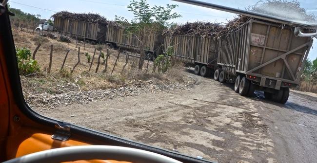 Guatemala traffic jam