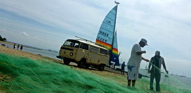 kombi and catamaran