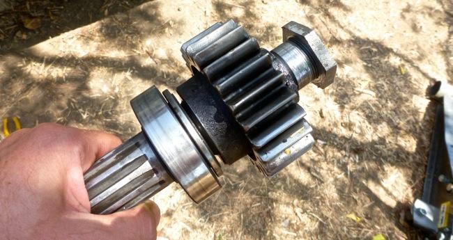 stub axle