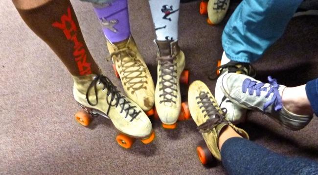 skates in