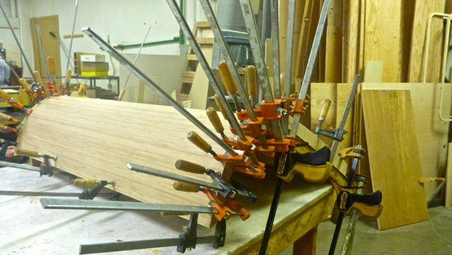 galley hatch clamped