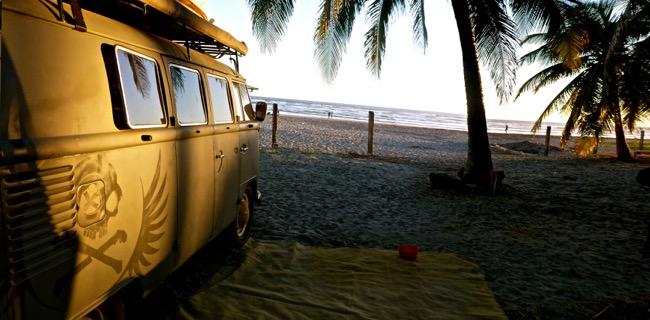 E beach