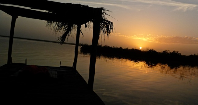 bacalar sunrise